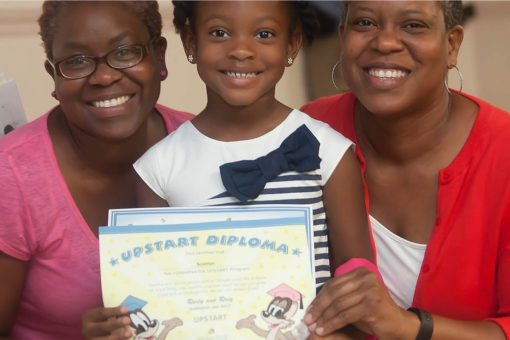 UPSTART family with diploma