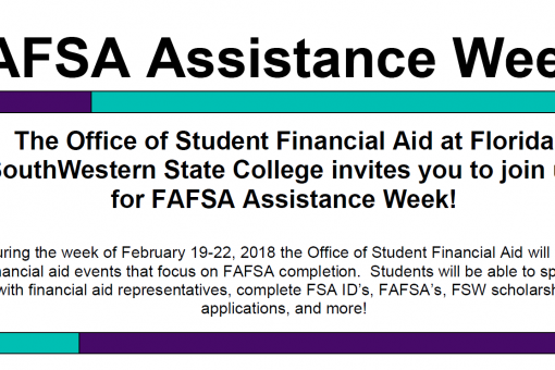 FAFSA Assistance Week Callout | Future Ready Collier - Naples, Florida