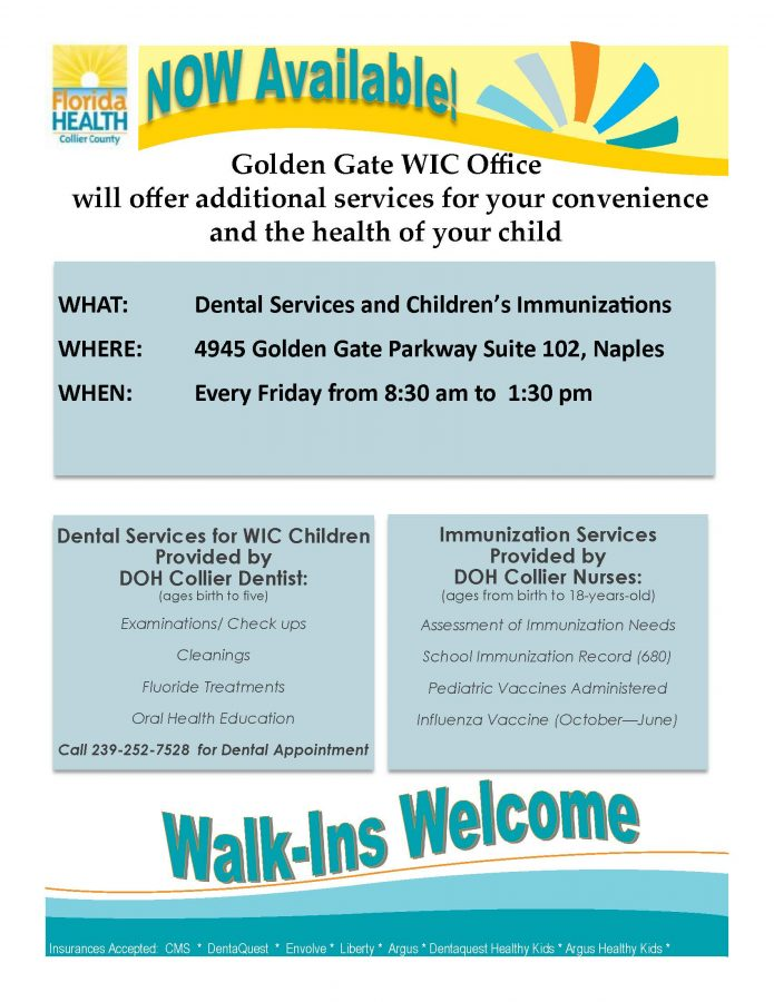 Golden Gate WIC Office | Future Ready Collier - Naples, Florida