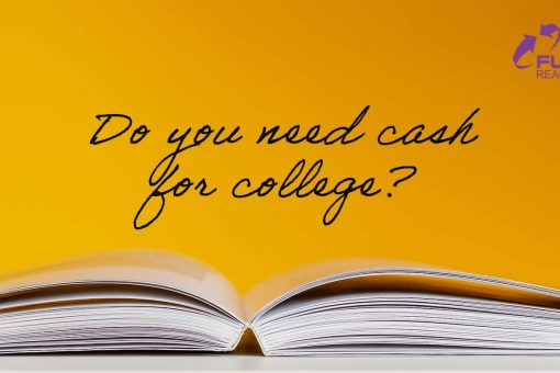 do you need cash for college