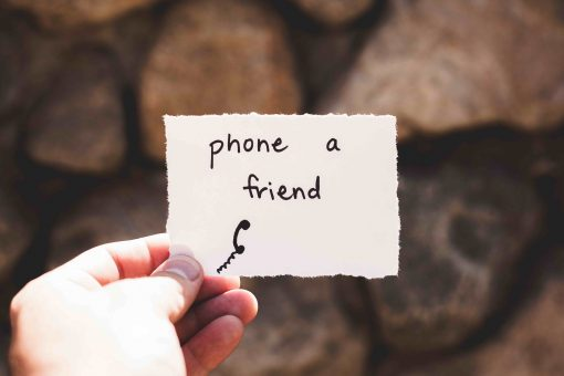 Phone a Friend note