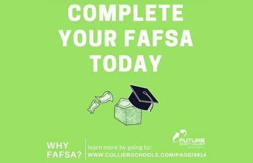 Complete Your FAFSA Today | Future Ready Collier - Naples, Florida