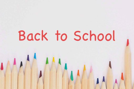 back to school colored pencils