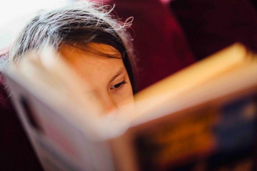 Littler Girl Reading | Future Ready Collier