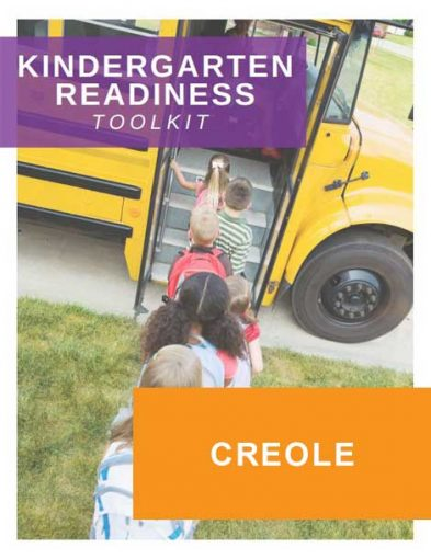 Kindergarten Readiness Toolkit in Creole | Future Ready Collier - Naples, Florida